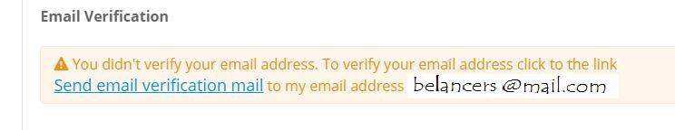 Belancer User Verification P-2