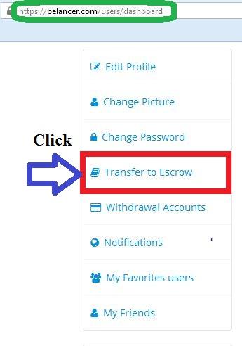 transfer to escrow